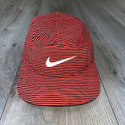 AU152.48 • Buy Nike Dri Fit AW84 Running 5 Panel Hat Cap Adjustable Run Reflective Swoosh