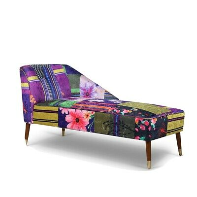 £349 • Buy Patchwork Chaise Lounge Chair Sofa