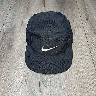 AU101.63 • Buy Nike Dri Fit AW84 Running 5 Panel Hat Cap Adjustable Run Reflective Swoosh
