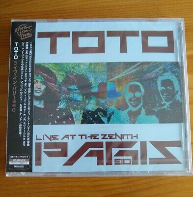 £20 • Buy Toto - Live At The Zenith, Paris 1990 - CD Japanese OBI - New & Sealed