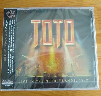 £20 • Buy Toto - Live In The Netherlands 1992 - CD Japanese OBI - New & Sealed