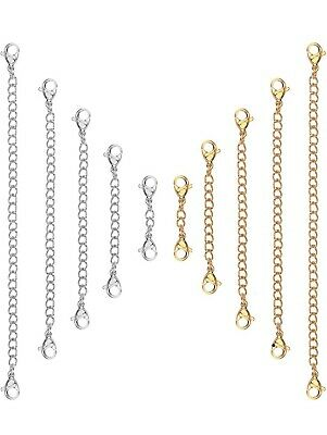 £2.89 • Buy Silver Gold Stainless Steel Clip On Chain Extender Extension Necklace Bracelet