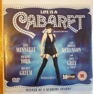 Life Is A Cabaret -- Daily Mirror Promo Dvd • 1.68£