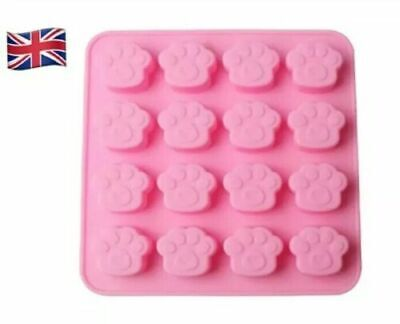 £3.90 • Buy Silicone Mould Paw Print Shape Cake Mould/Ice Cube Tray