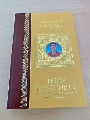 £48 • Buy Terry Pratchett MOVING PICTURES Unseen Library Limited Edition 2004 Discworld