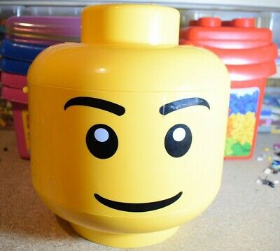 £14.99 • Buy Lego Storage Head Box Large Medium Small Select Your Box And Size