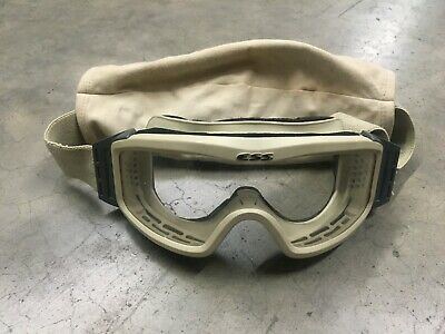 £10.02 • Buy ESS Profile NVG Goggles Army Issue Desert Tan, Clear