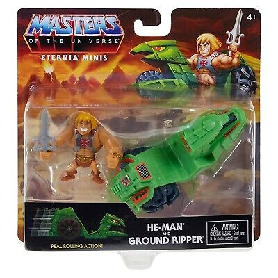 $16.99 • Buy Masters Of The Universe Eternia He-Man Ground Ripper Set NEW