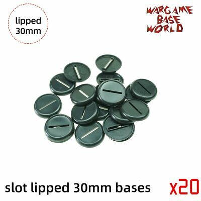 $11.99 • Buy 30mm Slot Lipped Bases Table Games For War Machine