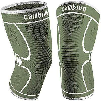 $20.61 • Buy CAMBIVO 2 Pack Knee Brace, Knee Compression Sleeve Support For Men And Women