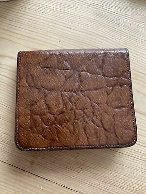 Vintage Finlays Real Leather Tan Cigarette /business Card Case • 5.49£