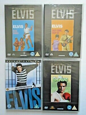 £4.50 • Buy Elvis Presley - NEW & SEALED Official Collector's Edition DVD Movies / Films