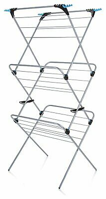 £26.99 • Buy Minky Plus 3 Tier Indoor Clothes Airer - Free 90 Day Guarantee
