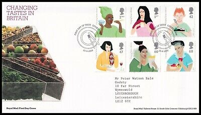 £1.99 • Buy 2005 GB Changing Tastes In Britain Royal Mail FDC Cookstown FDI