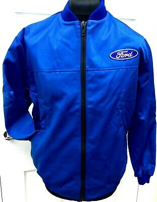 £17 • Buy Classic Fully-Lined Ford Badge Bomber Rally BTCC Motorsport Jacket 36-38  Chest