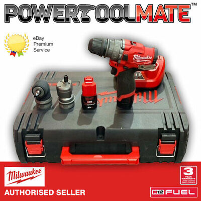 £183.99 • Buy Milwaukee M12FPDXKIT-202X 12V FUEL 6-IN-1 Percussion Drill (2 X 2.0Ah Batteries)