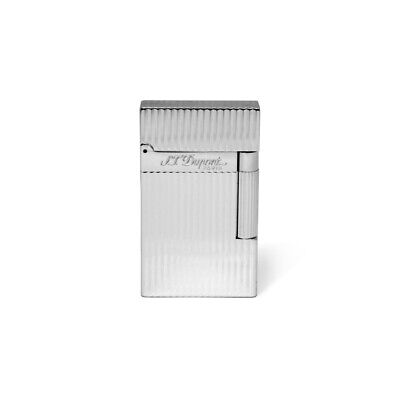 AU791.09 • Buy Lighter St Dupont Ligne 2 Yellow Flame In Silver Vertical Lines Cigarette 016817
