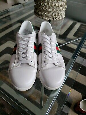 AU260.80 • Buy Gucci Men's Authentic Embroidered Sneakers - US Men's 7.5 Pre-owned No Box