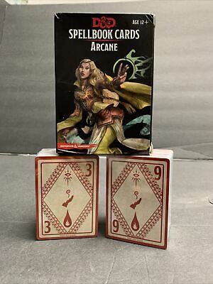 AU29.33 • Buy Dungeons & Dragons D&D 5E 5th Edition Spellbook Cards: Arcane Damaged Box
