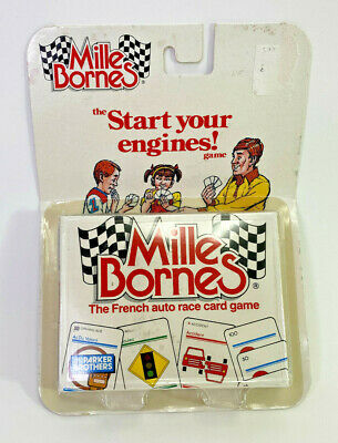 $38.82 • Buy Vintage Mille Bornes Card Game By Parker Brothers 1982 Sealed Retail Pack