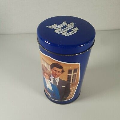 £9.99 • Buy Charles And Diana Royal Wedding 1981 Tin Regency Ware Made In England