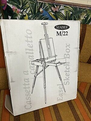 £229.99 • Buy New In Box Mabef Artists Freestanding Venetian Box Easel - M22 - M/22