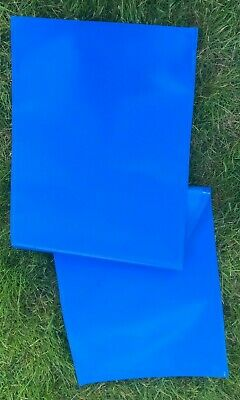 £5.50 • Buy Deckchair Recovering Replacement Strong Royal Blue UV Pvc Coated Canvas Fabric