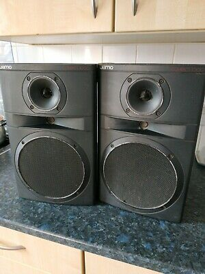 AU53.82 • Buy Vintage Jamo Compact 1000 Speakers Pair 8 Ohm 120W 1980s