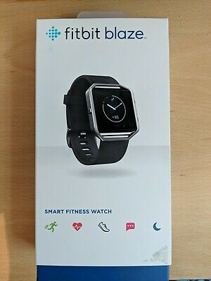 AU70.28 • Buy Fitbit Blaze Smart Fitness Watch - Large Black Strap, Boxed With Charger