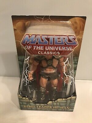 $159 • Buy Masters Of The Universe Classics Rebel Leader He-man Figure Super7 Motuc