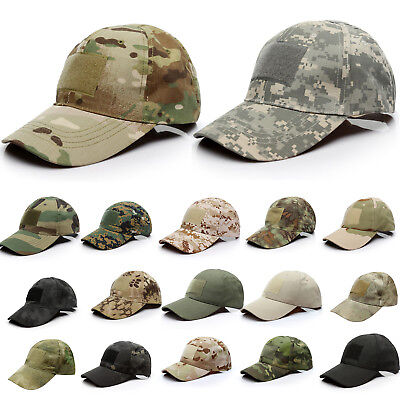 £4.59 • Buy Multicam Baseball Cap Tactical Hat Airsoft Army Military Camo Camouflage  Caps