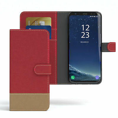 $ CDN10.46 • Buy Case For Samsung Galaxy S8 Jeans Cover Mobile Phone Protective Case Red