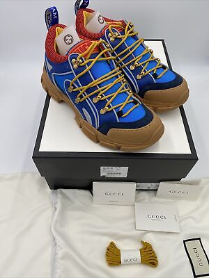 AU637.52 • Buy Men's Gucci Flastrek Sneakers Size 9.5 Fits Like 10.5 US Made In Italy
