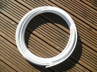 AU81.61 • Buy 10.3 Metres 10.0mm2 Twin & Earth Cable, Wire. White BS7211 6242B Basec T&E T+E