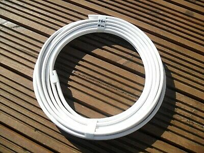 AU54.40 • Buy 6.6 Metres 10.0mm2 Twin & Earth Cable, Wire. White BS7211 6242B Basec T&E T+E