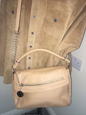 BNWoT RIVER ISLAND Camel Colour Faux Pebbly Leather Large Cross Body Bag  • 7.99£