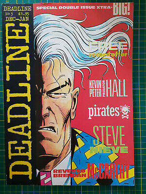 £8.99 • Buy Comic Deadline No 3 December-January 1988 Special Double Issue