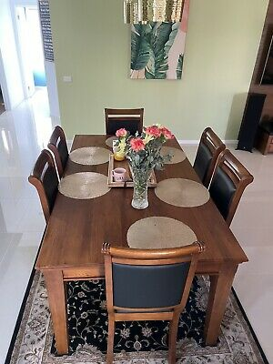 AU599 • Buy Used Furniture Dining Tables And Chairs