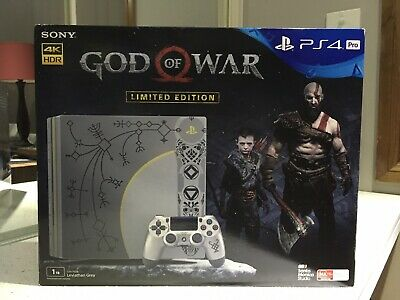AU375 • Buy PS4 Pro God Of War Limited Edition Console, Read Description. (1)