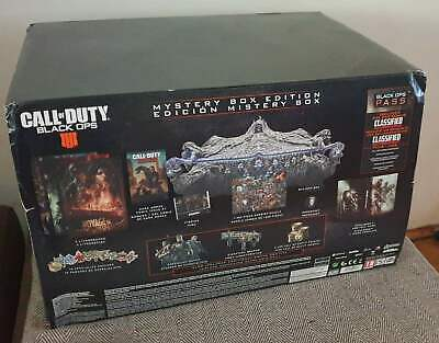 £155 • Buy Call Of Duty Black Ops 4 - Mystery Collectors Box Edition PC - Unopened