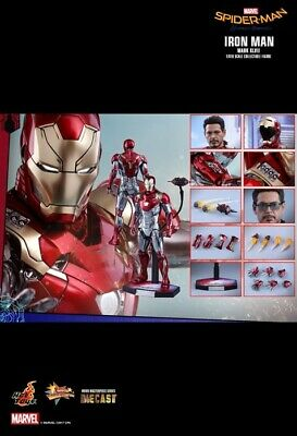 $ CDN475.61 • Buy Hot Toys Spider-Man: Homecoming Iron Man MK 47 Mark XLVII MMS427D19 1/6 Figure
