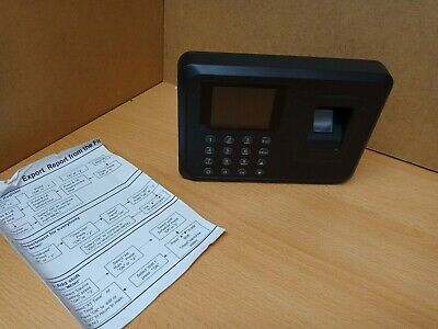 £8 • Buy Employee Clocking In Machine With Fingerprint Recognition USB - SPARE AND REPAIR