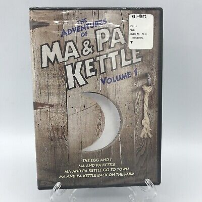 $11.95 • Buy The Adventures Of Ma And Pa Kettle - Volume 1 (DVD, 2011, 2-Disc Set)