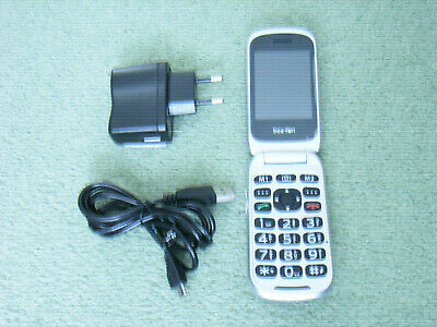 Beafon SL671A Flip Clamshell Dual Screen Mobile Phone. Ideal For Elderly. • 8.45£