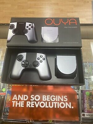 $120 • Buy OUYA Video Game Console With Controller - Silver - Open Box