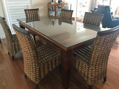 AU600 • Buy Elegant Dining Table With 8 Chairs