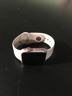 $ CDN31.47 • Buy Apple Watch, Series 1, 38mm, Aluminum Rose Gold Case, WR-IPX7, As Parts