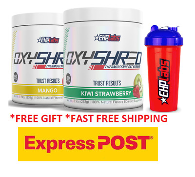 AU115 • Buy Ehplabs Oxyshred Ehplabs Twin Pack Express Genuine Ehp Labs Products