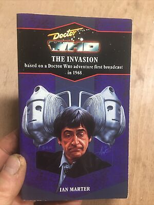 Doctor Who:The Invasion Target Blue Spine Paperback No.98 Ian Marter Cybermen Dr • 21£