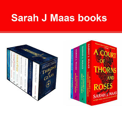 $83.99 • Buy Sarah J.Maas Books Collection Throne Of Glass & Court Of Thorns And Roses Series